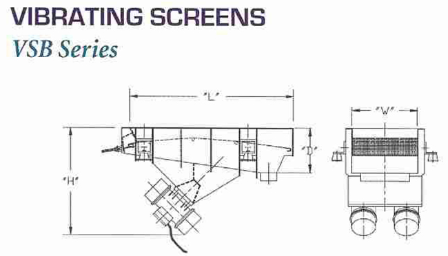 Vibra Screw - Vibrating Screens Schematic