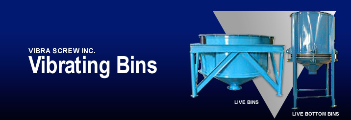 Vibra Screw - Vibrating Bins
